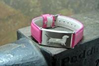 Armband - Dackel-1 - geschliffen -