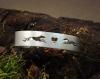 Armreif - Windhunde mit Herz - seidenmatt -